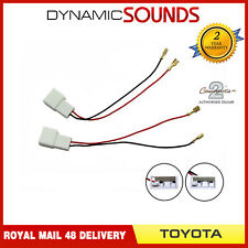 CT55-TY01 Car Speaker Adapter Harness Connectors for Toyota Aygo 2005 Onwards