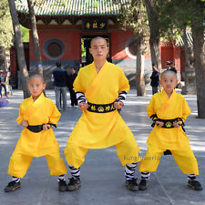 Shaolin Warrior Monk Kung fu Suit Martial arts Wing Chun Tai chi Uniform