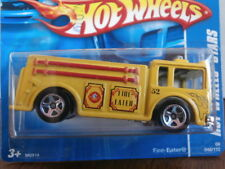 HOT WHEELS STARS FIRE EATER 048/172 MADE IN MALAYSIA B29 SHORT CARD