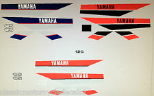 YAMAHA DT125 DT175 DT125MX DT175MX PAINTWORK DECAL SET