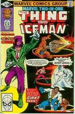 Marvel Two-In-One # 76 (Thing + Iceman) (USA, 1981)