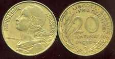 20 centimes 1966    marianne
