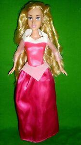 Disney Sleeping Beauty Princess Aurora Barbie Size Simba Doll and Dress