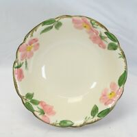"Franciscan Desert Rose Vegetable Serving Bowl Round 9"" California"