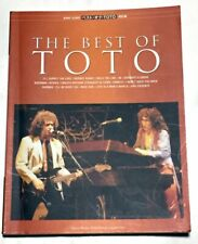 THE BEST OF TOTO JAPAN BAND SCORE BOOK GUITAR TAB / Steve Lukather