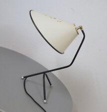 alte Krähenfuß Tisch Leuchte Tischlampe Schreibtischlampe Hexenhut 50er Jahre