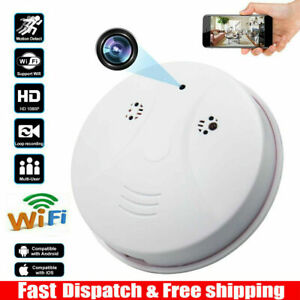Mini HD 1080P WIFI SPY Camera Hidden Smoke Motion Detection Nanny Nanny Cam DVR