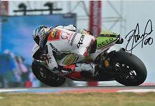 Yonny Hernandez Hand Signed Pramac Ducati 12x8 Photo 2015 MotoGP 8.