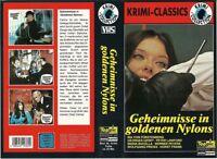 (VHS) Geheimnisse in goldenen Nylons - Peter Lawford, Ira von Fürstenberg (1967)