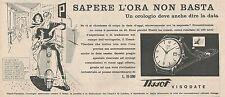 W1826 Orologio TISSOT Visodate - Pubblicità 1958 - Vintage Advertising