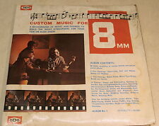 8mm film theme music vinyl record