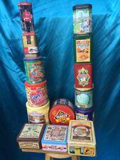 Collectible Tin Lot various brands   Lot #01
