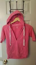 New listing J. Crew vintage french terry hoodie sweatshirt pink marsupial pocket Xs