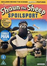 Shaun The Sheep Spoilsport  New Sealed DVD