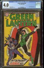 Green Lantern Comic #47 CGC 4.0 DC Comics 1966 Doctor Polaris Appearance