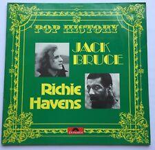 Jack Bruce-Richie Havens-Pop History Double Lp vinyl Set,Ex condition