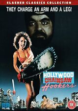 HOLLYWOOD CHAINSAW HOOKERS Linnea Quigley (1988) DVD in Inglese NEW PRENOTAZ.
