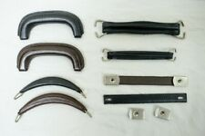 Selection Of Leather Suitcase, Briefcase, Attache, Bag Handles