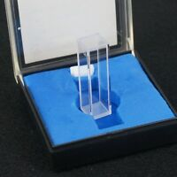 3.5ml 10mm Path JGS1 Quartz Cuvette Cell With Lid For Fluorescence Spectrometer