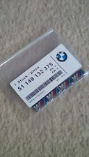 4 x BMW M Sport Performance Alloy Wheel Stickers Decals Badge GLOSS DOMED GEL