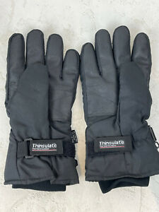 Thinsulate Size Medium Men's Gloves Battery Powered Heated Black Winter N628