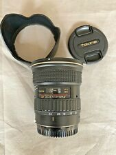 Tokina 12-24mm f/4 AT-X Pro DX11 Canon EF-S Fit & Hood