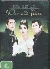 WAR AND PEACE - Audrey Hepburn, Henry Fonda, Mel Ferrer  - DVD