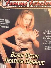 Femme Fatales Magazine Blair Witch Heather Donahue February 25, 2000 121617nonrh