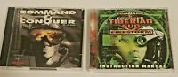 Computer Games PC Lot of 2 - Command & Conquer Original & Tiberian Sun Expansion