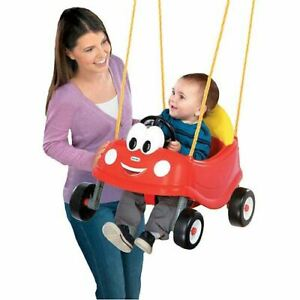 Little Tikes Cozy Coupe First Swing, Red