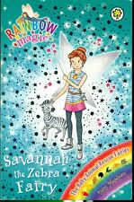 RAINBOW MAGIC  #137 Savannah the Zebra Fairy - SC - VERY GOOD CONDITION