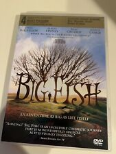 Big Fish (Dvd, 2004)with special features