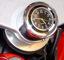 Nuevo Hecho En Gran Bretaña Honda Yamaha Triumph Etc Moto Tallo Tuerca Reloj