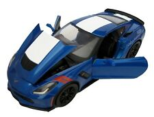 MAISTO 2017 Chevrolet Corvette Grand Sport 1:24 Blue Diecast Car