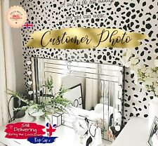 Dalmatian Print Spots 320x wall Stickers Polka dot Living Room Irregular Dot