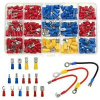 280PCS Assorted Crimp Spade Terminal Insulated Electrical J7Y1 Connector A3 S6D1