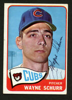 Wayne Schurr #149 signed autograph auto 1965 Topps Baseball Trading Card