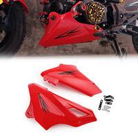 ABS Motorrad Motorschutz Abdeckung Für Honda MSX125SF 16-17 MSX125 13-16 Rot GER