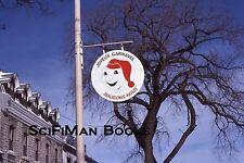 KODACHROME 35mm Slide Canada Quebec City Winter Carnival Bonhomme Sign 1979!!!