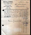 """SAINT-AMAND-MONTROND (18) DROGUERIE & EPICERIE en gros """"Maison PABAN"""" en 1947"""