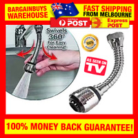 Flexible 360 Tap Adapter Sprayer Turbo Flex Sink Sprayer Stainless Steel