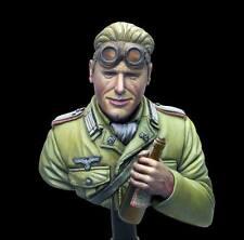 Elan13 Miniatures DAK German Panzer Officer WW2 1/10th Bust