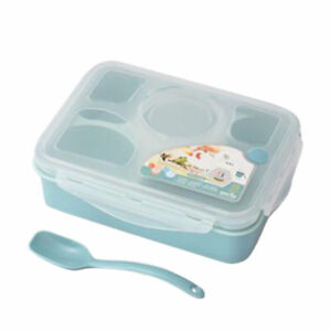 Leakproof Lunch Box with 5+1 Separated Containers Bento Box for Kids Adults TR