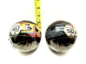 2 Zing Sportz Metal Tek Softek Ball Bounce Over 50 Feet Black