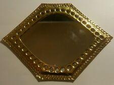 Marocchino realizzati a mano BATTUTI IN OTTONE Specchio Design Medio (3)