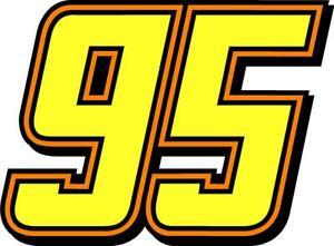 NEW FOR 2019 #95 Matt DiBenedetto Racing Sticker Decal - SM thru XL - var colors
