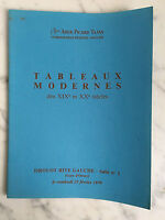 Catálogo De Venta Ader Picard Tajan Pizarras Moderno Baño N º 1 23 Febrero 1979