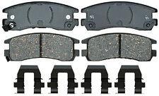 Disc Brake Pad Set-Ceramic Disc Brake Pad Rear ACDelco Advantage 14D698CH