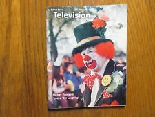 April 26, 1981 Detroit News Television Magazine(MICKEY ROONEY/LEAVE 'EM LAUGHING