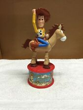 Disney Toy Story Two Woody And Bull's-Eye Mcdonald's Candy Dispenser
